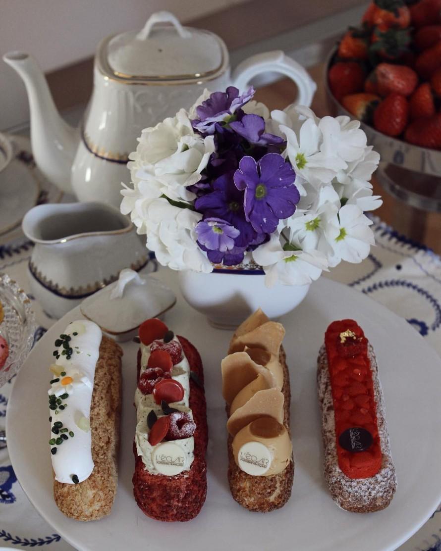 Chá da tarde @leclair.lisbon ☕️