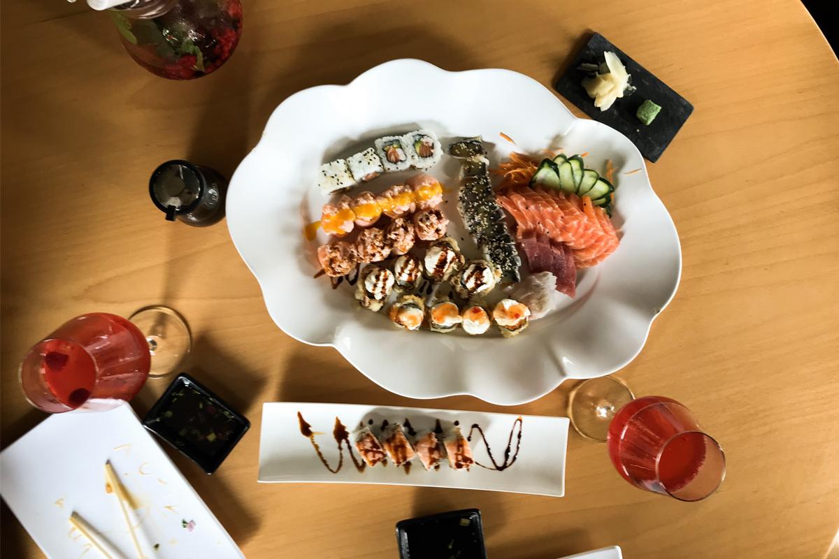 O que comer em Lisboa: Up To Sushi