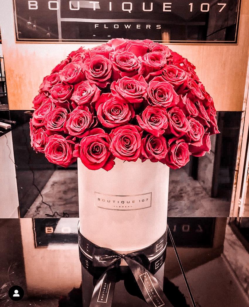 Caixa de flores: Boutique 107